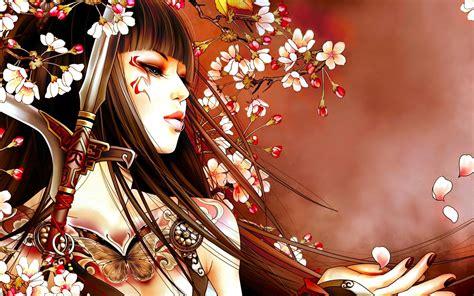 fantasy geisha jpg 1920x1200