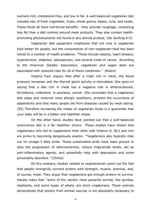 Essay about advantages and disadvantages of vegetarians jpg 638x903